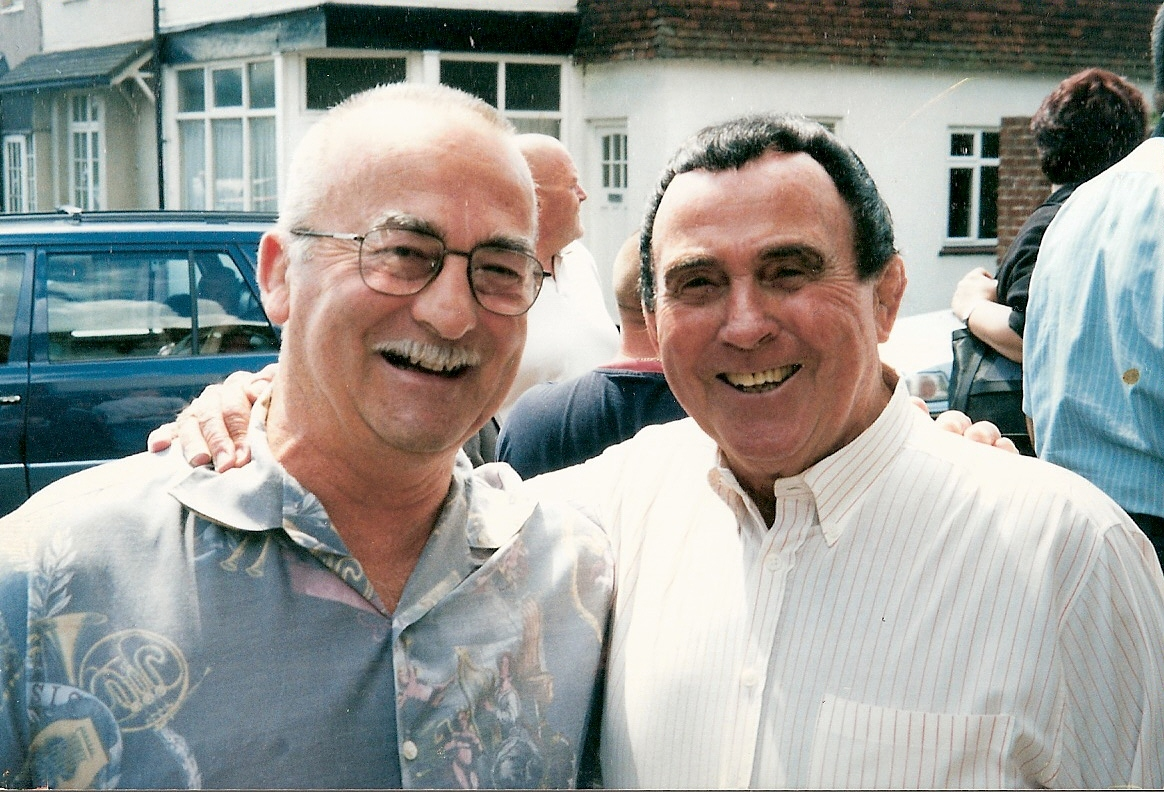 Bob Kirkwood and Mick McManus