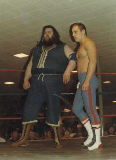 Dynamite Kid and Mal Kirk