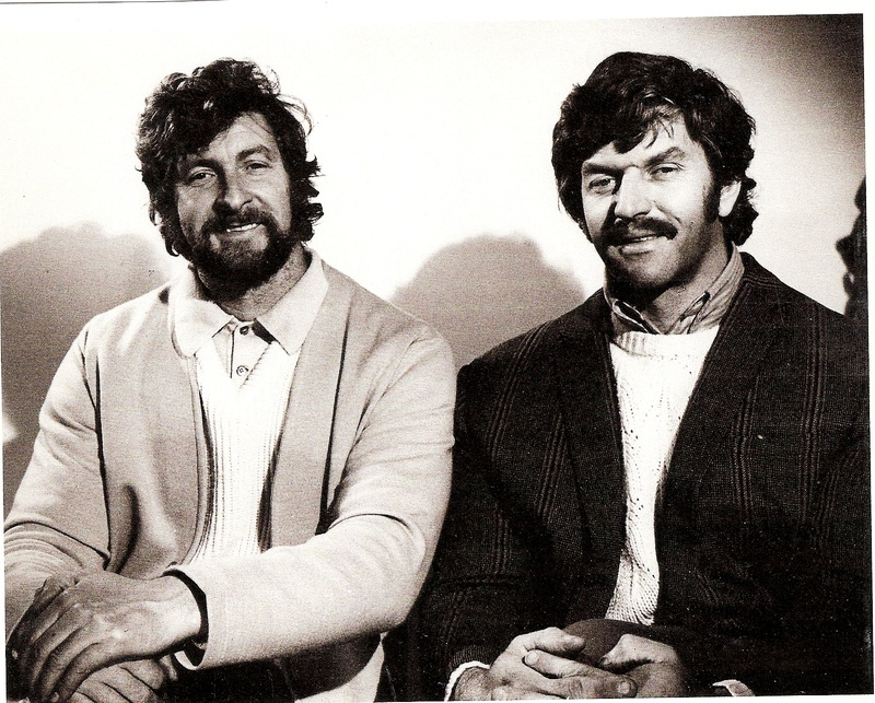 Joe Sands and Dave Prowse MBE