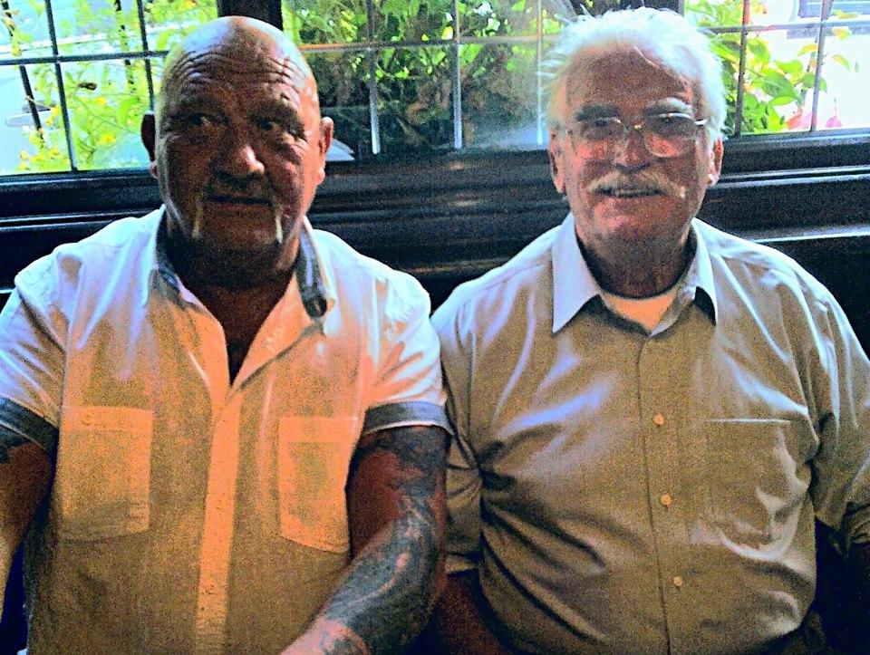 Karl Heinz and Dazzler Joe Cornelius