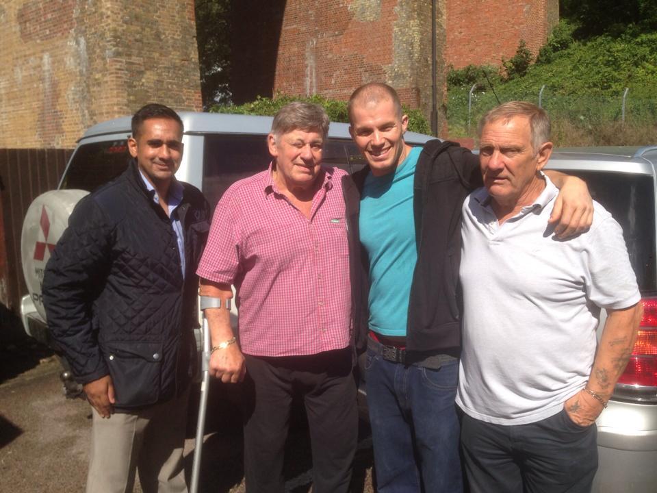 Sanjay Bagga, Wayne Bridges, Travis & Frank Rimer