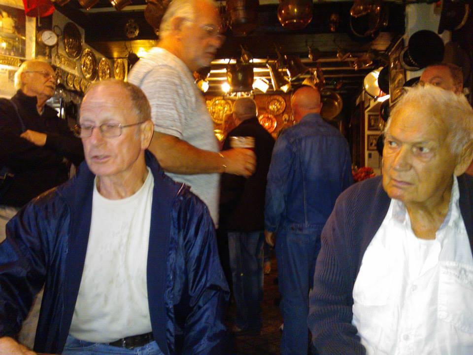 Johnny Saint and Rene Lasartesse