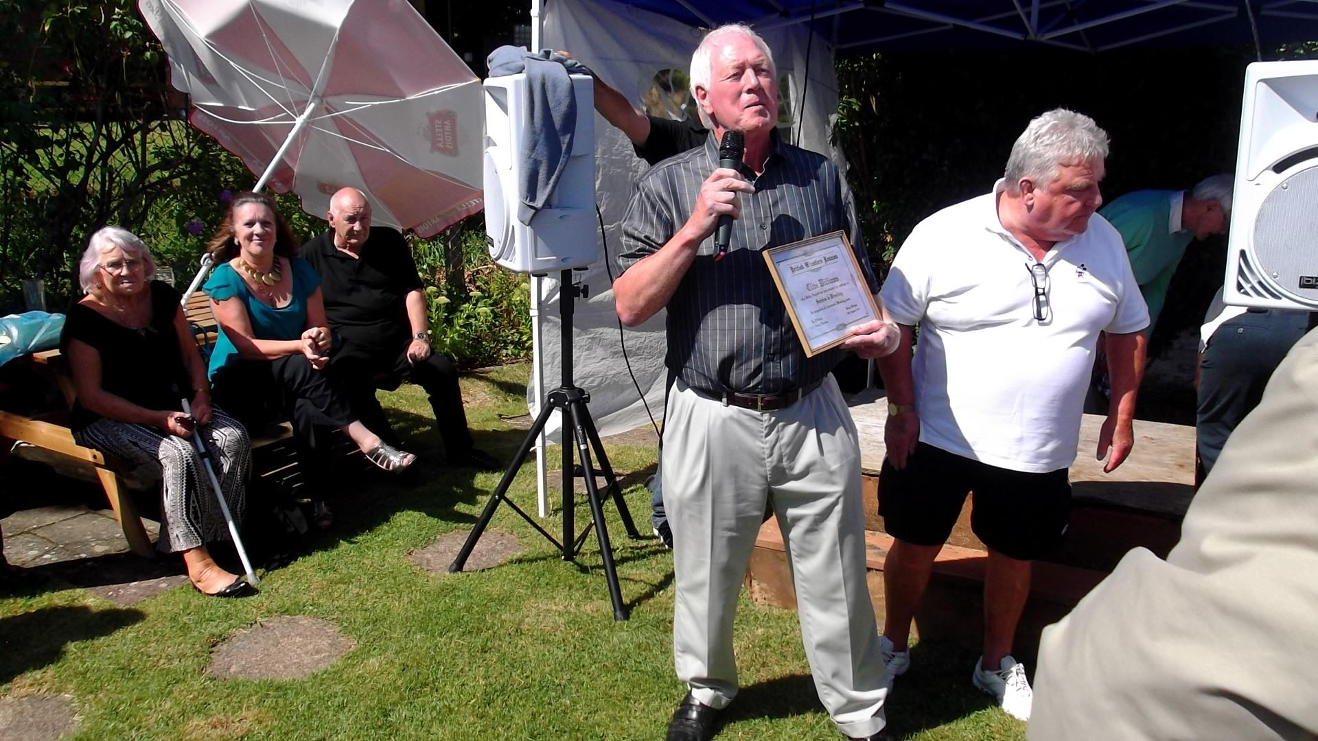Clive Williams a.k.a. Bobby England  & Jackie Robinson