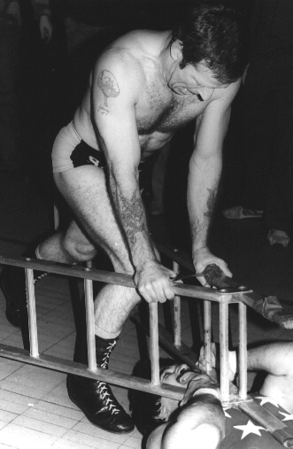 Mark 'Rollerball' Rocco -v- Johnny Saint